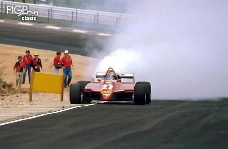 Abandon tehnic şi pentru Gilles Villeneuve (Ferrari)