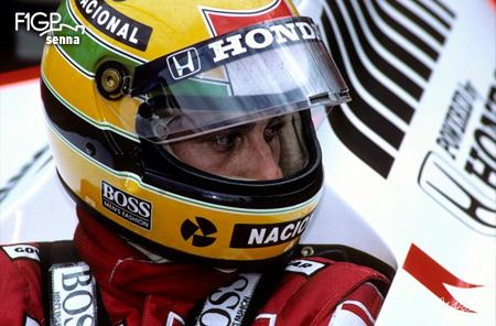 Senna in Hungary